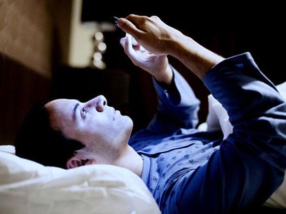 nao estimule o cerebro antes de dormir