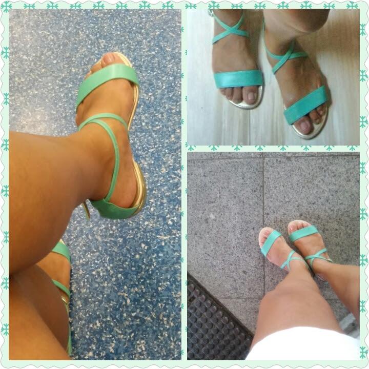 Sensação de pés descalços