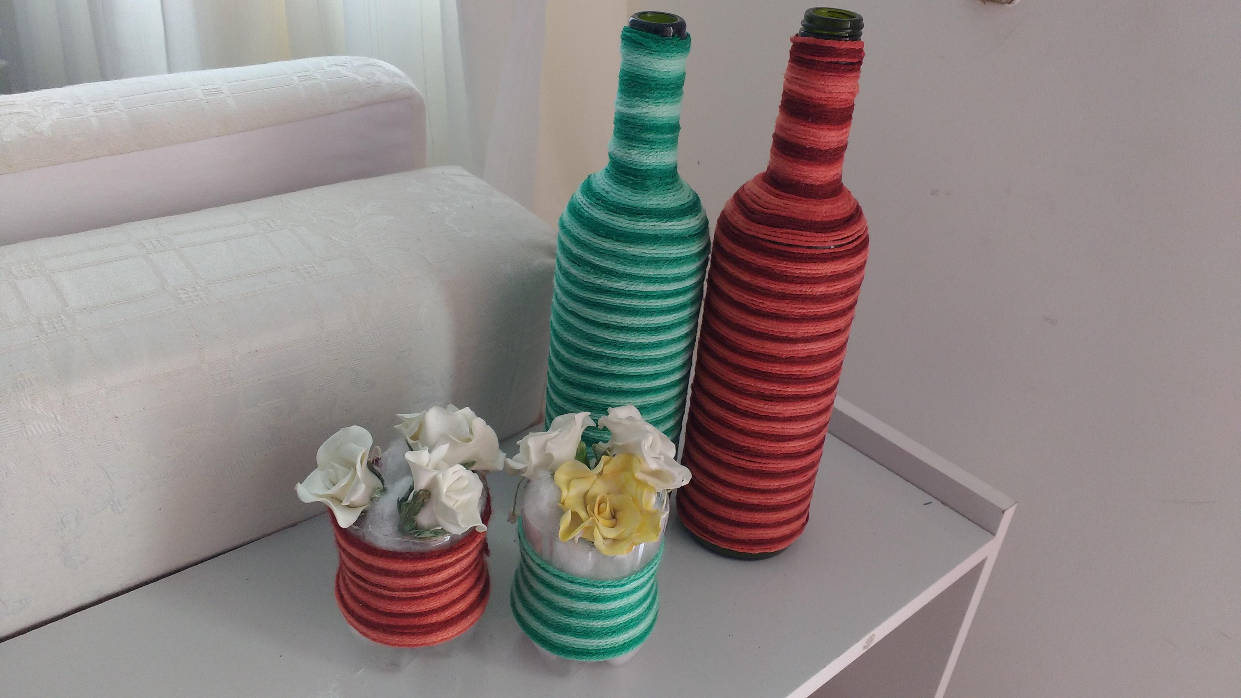 Decore sua casa e apoie reciclagem de garrafas