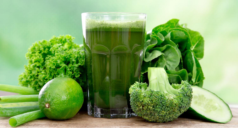 Suco Verde: desintoxicante e fonte de energia
